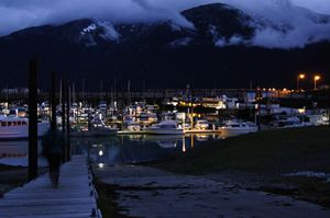 Skagway's Small Boat Harbor - Void Creations