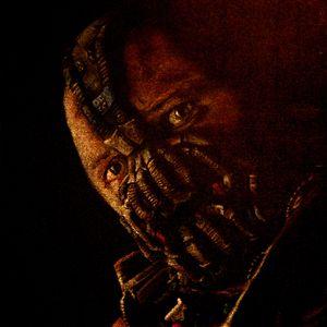 Enhanced Tom Hardy as Bane