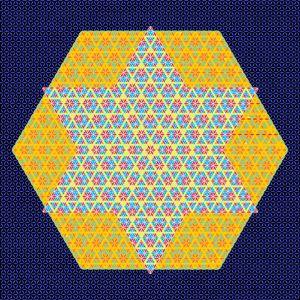 mystical geometric star