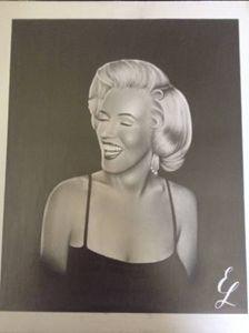 Marilyn Monroe 14x17 portrait
