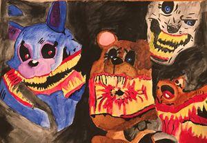 5 nights at Freddy's