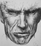 Portrait of Clint Eastwood