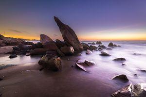 Rocks in Long Hai - Vietnam beauty landscape