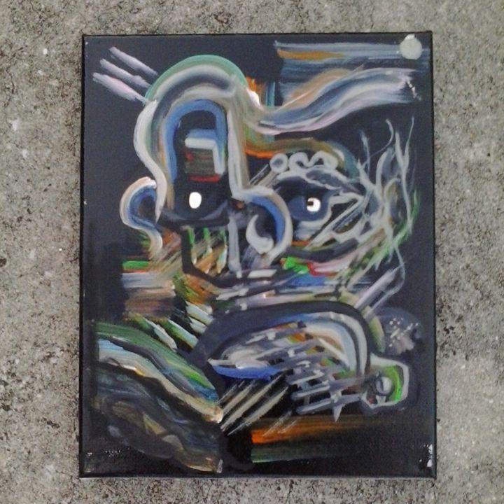 abstract original by Niemann - ETNART Evan Thomas Niemann