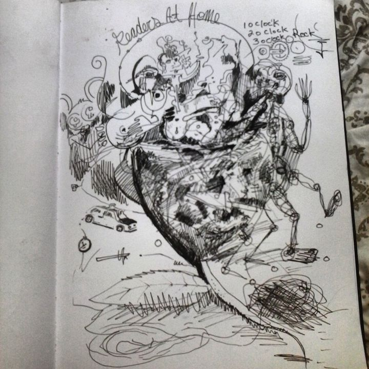 original drawing by Niemann - ETNART Evan Thomas Niemann