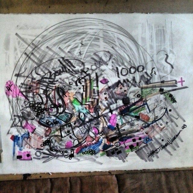 a original drawing paper titled 1000 - ETNART Evan Thomas Niemann