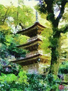 Japanese Pagoda