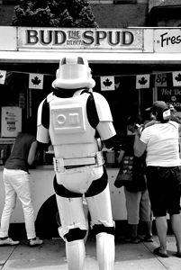 Hungry stormtrooper - Scott McKone