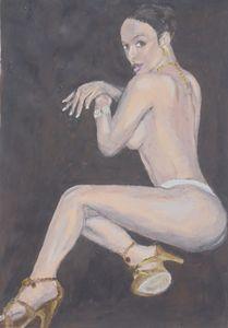 Seductive woman
