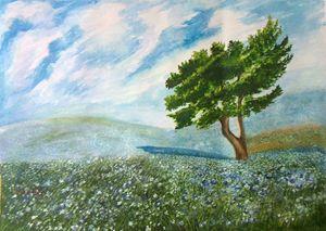 Planet Green- Original Painting