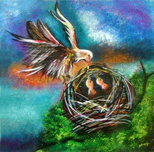 Precious Moments- Original Painting
