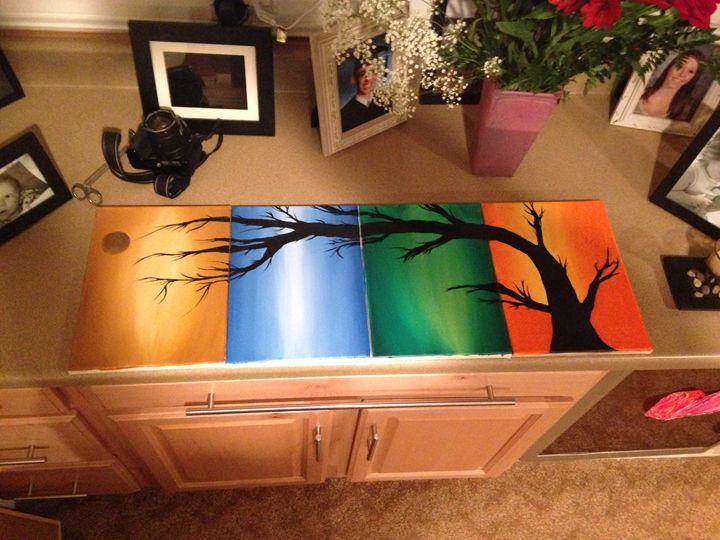 Stretching - Alyssa Hart- oil paintings