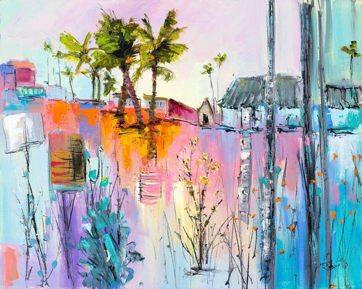 Green Trees - Joan Roberts