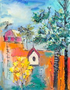 Bird House - Joan Roberts