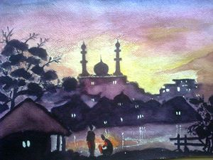 Veiw of Mosque
