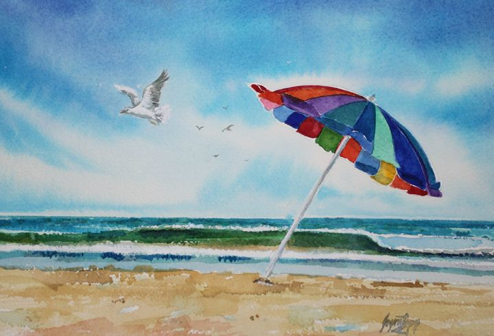 Summer at Rehoboth Beach - Joyce Lapp