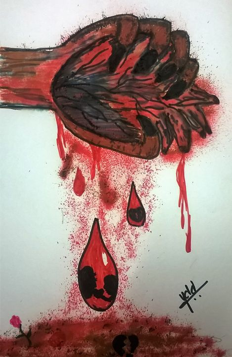 bleeding love - firebird paintings
