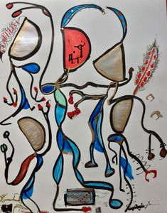 Kokopelli Dance by Sparrowhawk