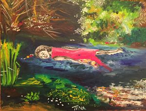 Millais' Ophelia trapped in a poem