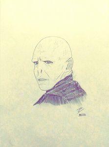Voldemort drawing