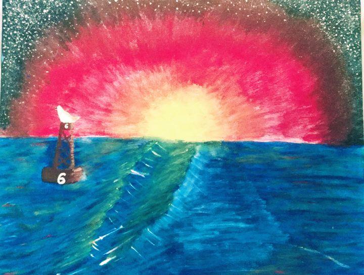 """""""Explosive Sunset"""" - Kieanna Austin"""