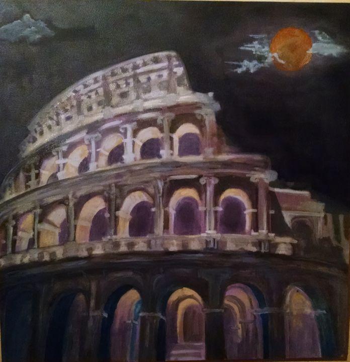 Roma at Night - Theodeminggrant