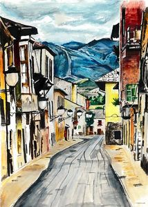 streets of spain - Arwa Ayub