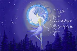 Andromeda and the Moon Rabbit