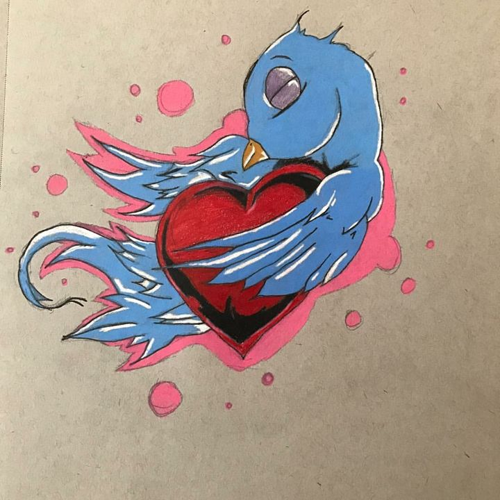 Loving Sparrow - Clown the Artist
