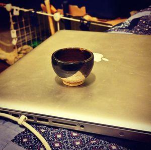 Small decorative cup