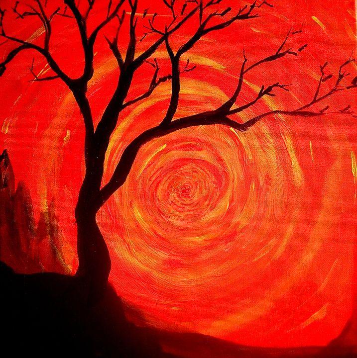 Orange spiral - Joe Snyder
