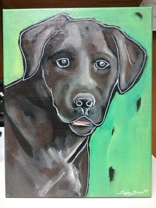 Labrador Retriever Dog Painting - Susan Dunn