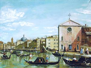 Copy of Canaletto school painter