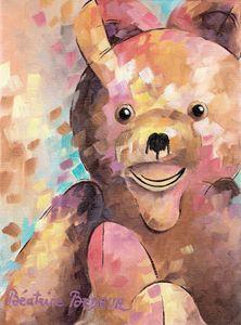 Teddy bear - Beatrice BEDEUR
