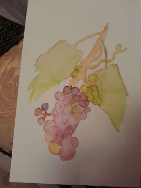 Abstract Grapes - MillsArtistry