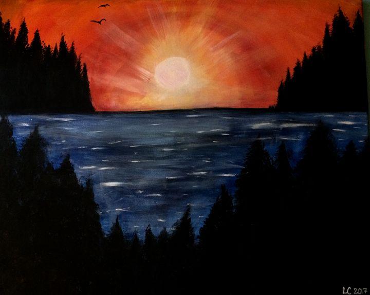 Serenity Sea - The Angels Paintings