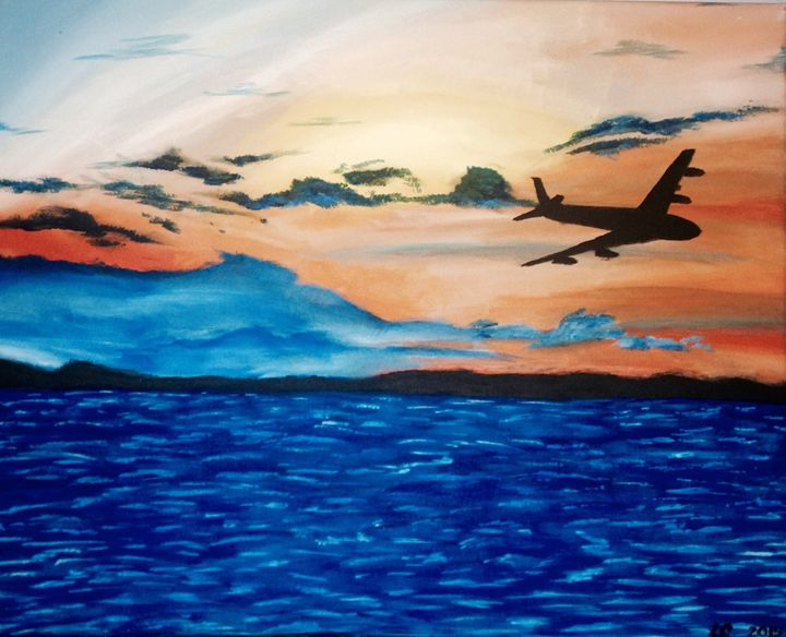 Fly in the Horizon - The Angels Paintings