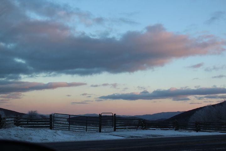 Cold Sunset - Aaryn Buckholtz