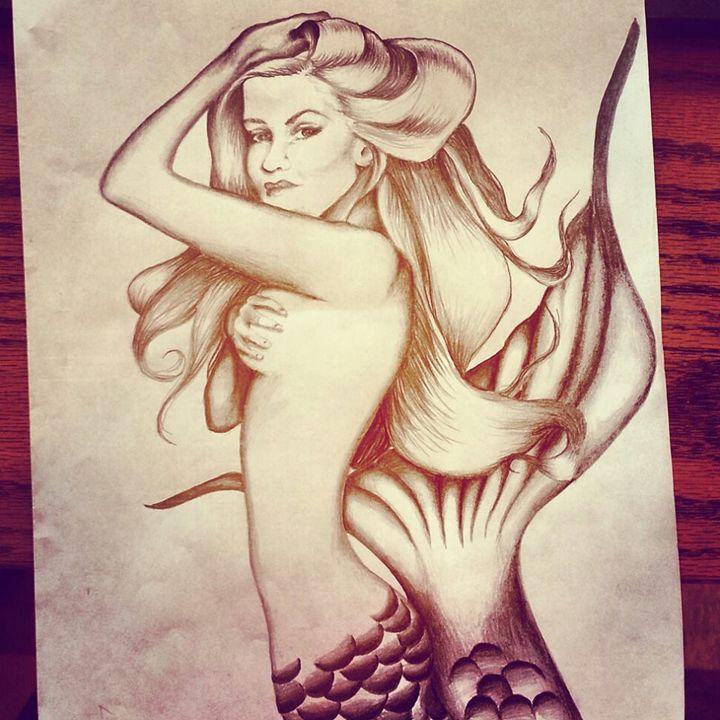 Mermaid - Brandis Art Gallery