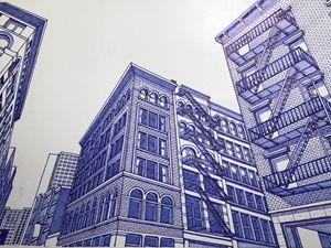 Lower Manhattan Building.