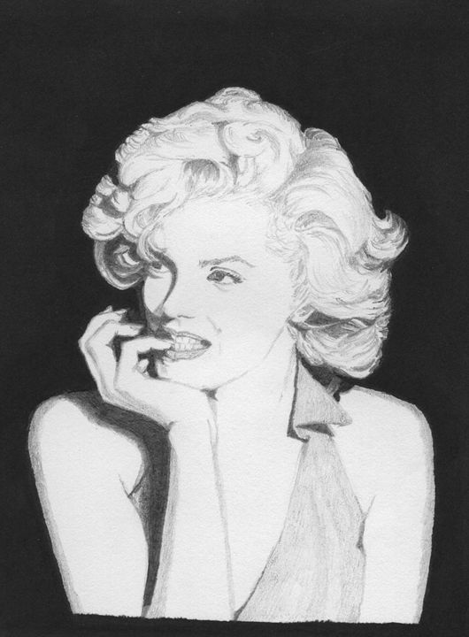 Marilyn Monroe - Sellu Pencil Darwings
