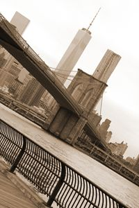 Brooklyn bridge Manhattan view