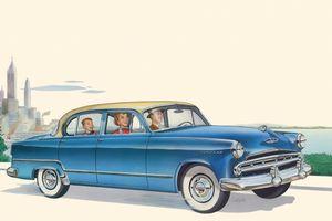 1953 Dodge Coronet Print - Walt Curlee Fine Art & Prints