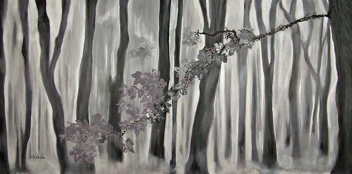 Mauve Leaves - lgabel - the art of encouragement