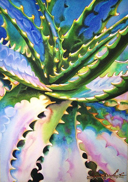 Savila Azul Watercolor 35 x 50 cm - Robert C. Murray II