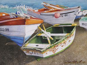 Boats on the Shoreline - Robert C. Murray II