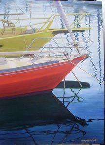 Primarios-Oil on Canvas 50 x 70 cm - Robert C. Murray II