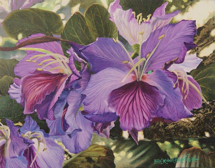 Orchids in the shade - Robert C. Murray II