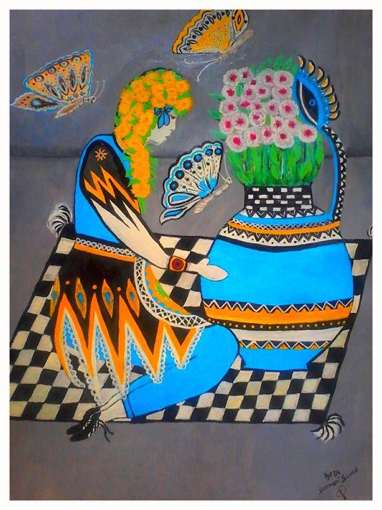 La Fleuriste - Artds DS Souad Dehhani