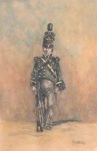 British 95th Regiment of Foot 1815